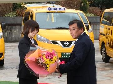 UDタクシー出発式3