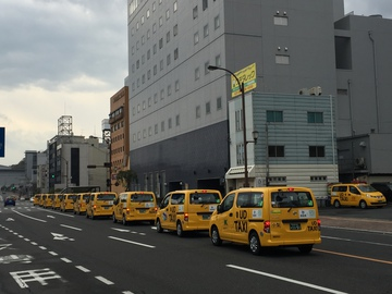 UDタクシー出発式5
